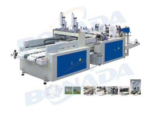 DFR-E450*2/500*2 Full Automatic High Speed T-shirt Bag Making Machine