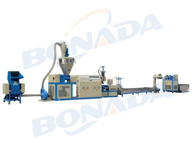 SJA Series Double Stage Plastic Pelletizing Machine