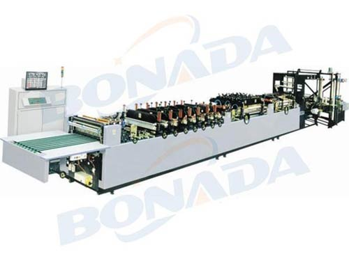 HN-ZSD400/500/600 Series Multifunctional Three-edge Bag Making Machine