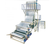 SJ75/90/120 HDPE/LDPE/LLDPE Film Blowing Machine Set