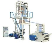 SJ-50/55/60/65 LDPE/HDPE/LLDPE Film Blowing Machine