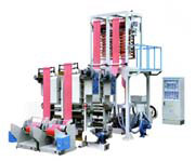 SJ-FM Series Double-head Film Blowing Machine Set