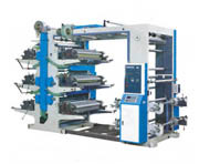 YT Series Six Color Flexo Printing Machine